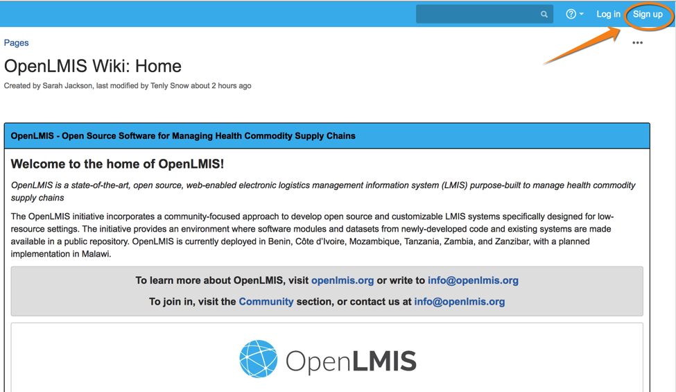 Tools - OpenLMIS